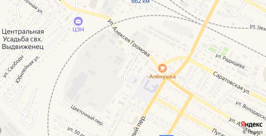 Улица Мясокомбинат в Ртищево с номерами домов на карте. Спутник и схема онлайн