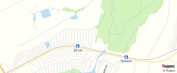 Карта поселка Университета в Кабардино-Балкарии с улицами и номерами домов