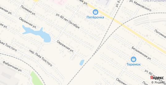 Полевая улица в Ртищево с номерами домов на карте. Спутник и схема онлайн