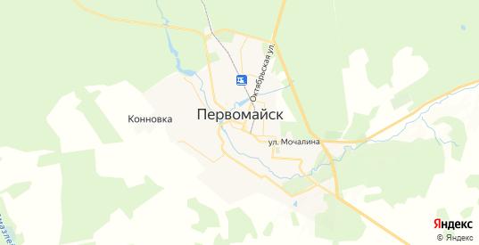 Карта Первомайска с улицами и домами подробная. Показать со спутника номера домов онлайн