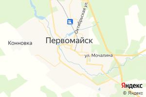 Карта г. Первомайск Нижегородская область