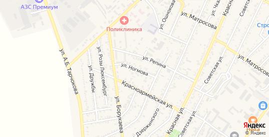 Улица Ногмова в Нарткале с номерами домов на карте. Спутник и схема онлайн