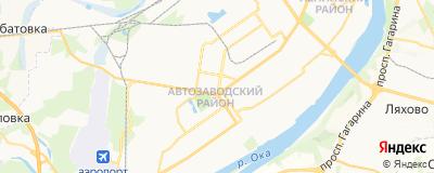 Горькова Анна Сергеевна, адрес работы: г Нижний Новгород, пр-кт Ильича, д 1