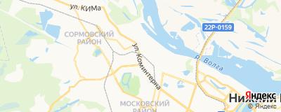 Альжева Елизавета Владимировна, адрес работы: г Нижний Новгород, ул Коминтерна, д 139