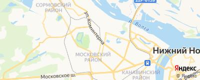 Русакова Олеся Львовна, адрес работы: г Нижний Новгород, ул Коминтерна, д 10