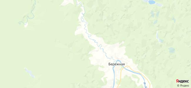 Туриха на карте