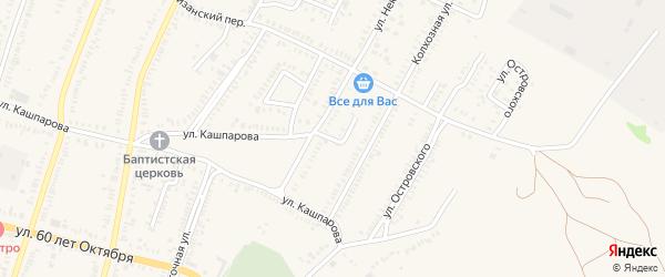 Переулок Некрасова на карте Зеленокумска с номерами домов