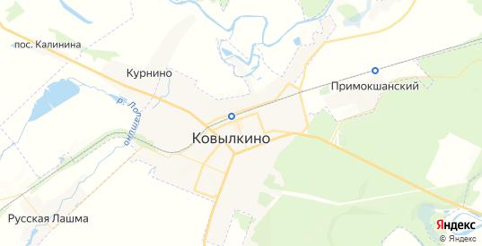 Карта Ковылкино с улицами и домами подробная. Показать со спутника номера домов онлайн