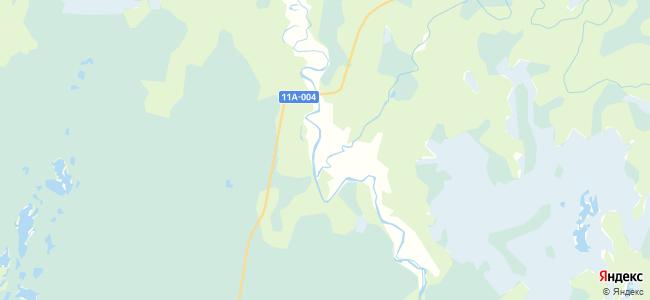 Совполье на карте