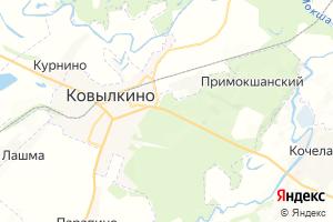 Карта г. Ковылкино