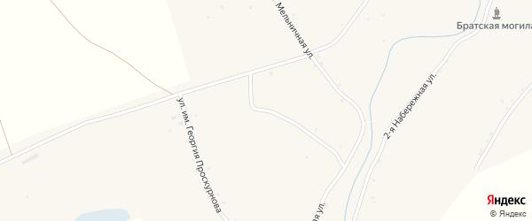 Улица Им Г.Проскурнова на карте села Аксая Волгоградской области с номерами домов