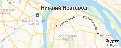 Антипенко Лариса Анатольевна, адрес работы: г Нижний Новгород, ул Белинского, д 38