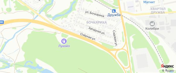 Озёрная улица на карте деревни Лискино (Линдовский с/с) с номерами домов