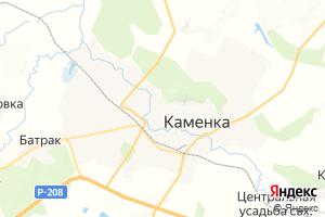Карта г. Каменка Пензенская область