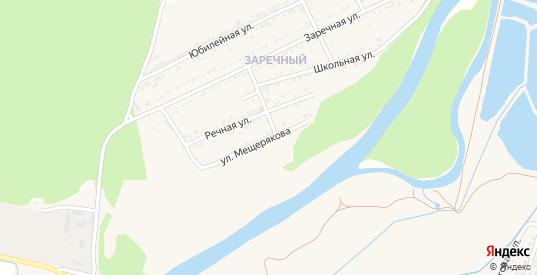 Улица Мещерякова в Майском с номерами домов на карте. Спутник и схема онлайн