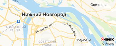 Синёва О. Е., адрес работы: г Нижний Новгород, ул Тургенева, д 26