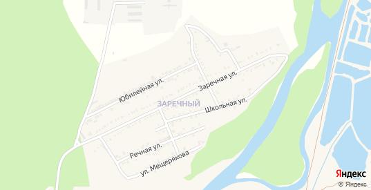Заречная улица в Майском с номерами домов на карте. Спутник и схема онлайн