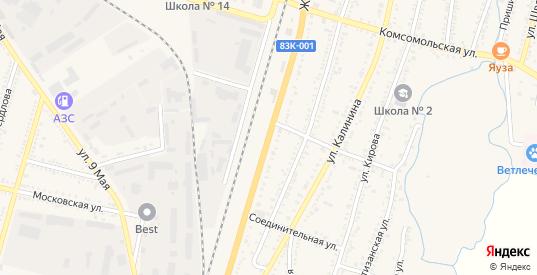 Железнодорожная улица в Майском с номерами домов на карте. Спутник и схема онлайн