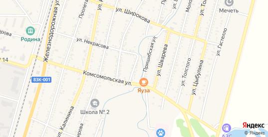 Прибрежный переулок в Майском с номерами домов на карте. Спутник и схема онлайн
