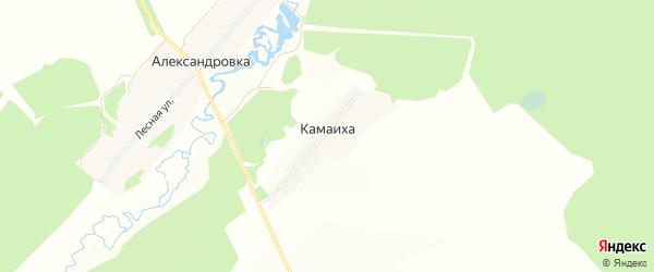 Карта поселка Камаихи в Нижегородской области с улицами и номерами домов