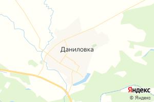 Карта пгт Даниловка Волгоградская область