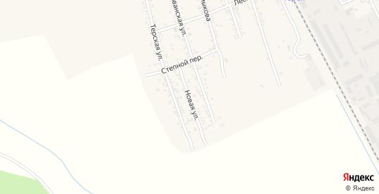 Новая улица в Тереке с номерами домов на карте. Спутник и схема онлайн