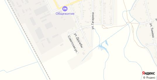 Улица Дружбы в Тереке с номерами домов на карте. Спутник и схема онлайн