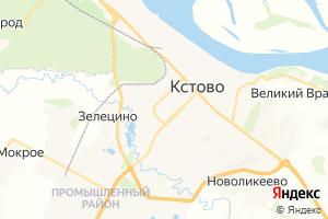 Карта г. Кстово Нижегородская область