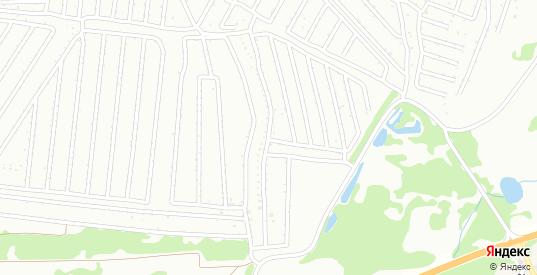Территория СНТ Весна в Кстово с номерами домов на карте. Спутник и схема онлайн