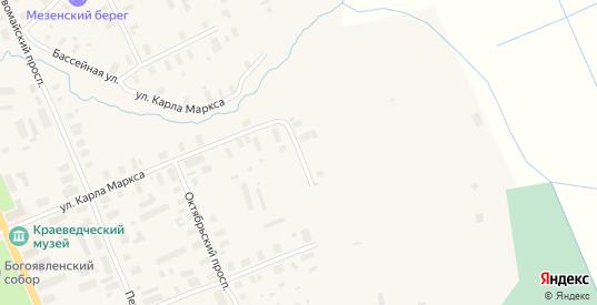 Улица Мельникова в Мезени с номерами домов на карте. Спутник и схема онлайн