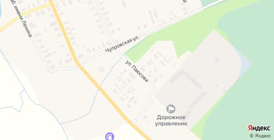 Улица Паюсова в Мезени с номерами домов на карте. Спутник и схема онлайн
