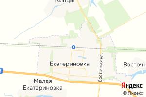 Карта пгт Екатериновка Саратовская область