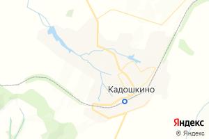 Карта пгт Кадошкино Республика Мордовия