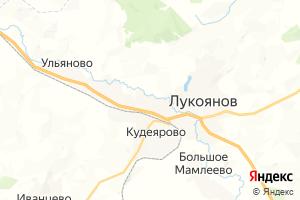 Карта г. Лукоянов