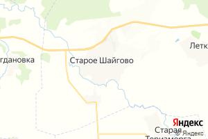 Карта с. Старое Шайгово