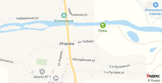 Улица Победы в Перевозе с номерами домов на карте. Спутник и схема онлайн
