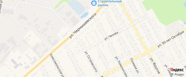 Площадь Механизаторов на карте Семенова с номерами домов