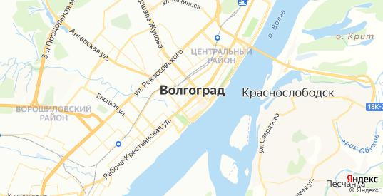 Карта Волгограда с улицами и домами подробная. Показать со спутника номера домов онлайн