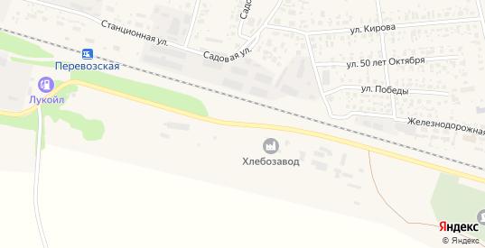 Нагорная улица в Перевозе с номерами домов на карте. Спутник и схема онлайн