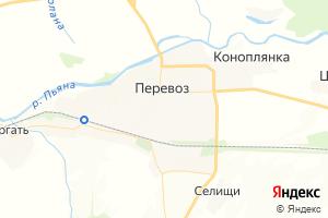 Карта г. Перевоз Нижегородская область