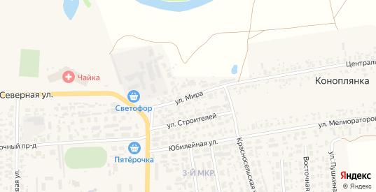 Улица Мира в Перевозе с номерами домов на карте. Спутник и схема онлайн