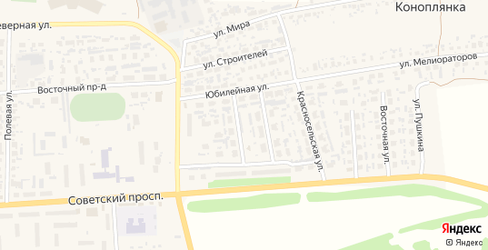 3-й микрорайон в Перевозе с номерами домов на карте. Спутник и схема онлайн