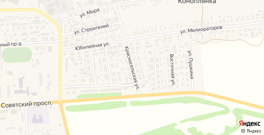 Красносельская улица в Перевозе с номерами домов на карте. Спутник и схема онлайн