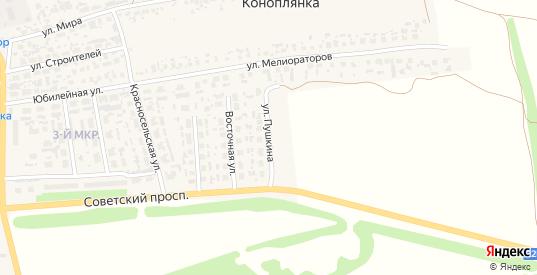 Улица Пушкина в Перевозе с номерами домов на карте. Спутник и схема онлайн