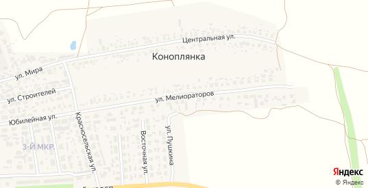 Улица Мелиораторов в Перевозе с номерами домов на карте. Спутник и схема онлайн
