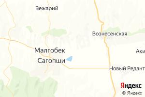 Карта г. Малгобек Республика Ингушетия