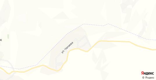 Местность Бековичи на карте Малгобека с номерами домов