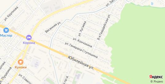 Улица П.Гака в Моздоке с номерами домов на карте. Спутник и схема онлайн