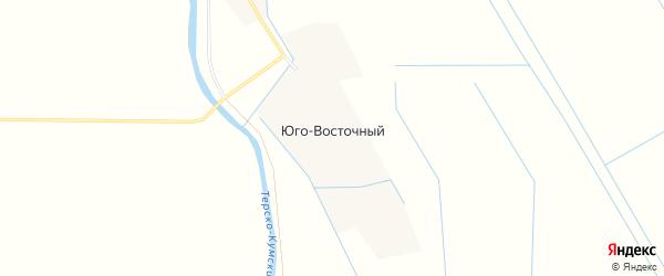 Карта Юго-Восточного хутора в Ставропольском крае с улицами и номерами домов