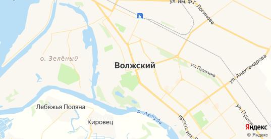 Карта Волжского с улицами и домами подробная. Показать со спутника номера домов онлайн